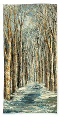 Winter Dreams Hand Towel