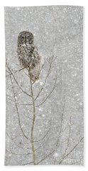 Winter Ghost Hand Towel by Dee Cresswell