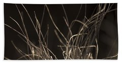 Hand Towel featuring the photograph Winter Grass 2 by Yulia Kazansky