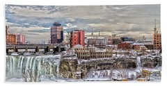 Winter In Rochester Hand Towel