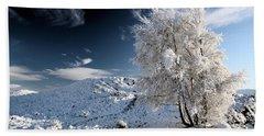 Winter Landscape Hand Towel