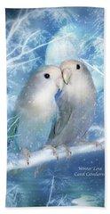 Winter Love Hand Towel