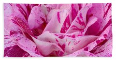 Bath Towel featuring the photograph Winter Rose  by Heidi Smith