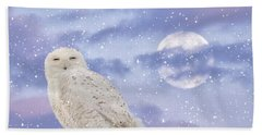 Winter Solstice Hand Towel by Heather King