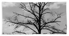 Bath Towel featuring the photograph Winter Tree by Andrea Anderegg