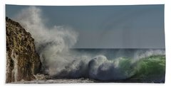 Winter Waves Bath Towel