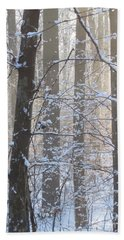 Winter Woodland Hand Towel