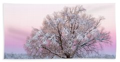Winter's Majesty Morning Hand Towel
