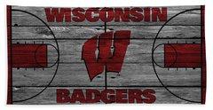 Wisconsin Badger Hand Towel