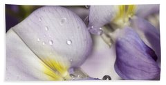 Wisteria Hand Towel by Richard Thomas