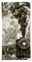 Wmsr Steam Engine 734 Hand Towel