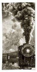 Wmsr Steam Engine 734 Bath Towel