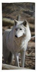 Timber Grey Wolf Bath Towel