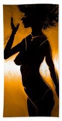 Bath Towel featuring the photograph Woman Figure by Sotiris Filippou