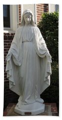 Woman Of Faith Hand Towel by Aaron Martens