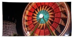 Wonder Wheel - Slow Shutter Bath Towel
