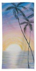 Wonderful Sunrise In Paradise Bath Towel