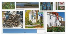 Hand Towel featuring the photograph Wonderful Wellfleet by Barbara McDevitt