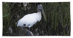 Woodstork Bath Towel