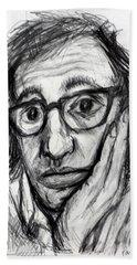 Woody Allen Hand Towel