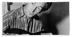 Woody Guthrie This Machine Kills Fascists Hand Towel