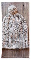 Wool Hat Hand Towel