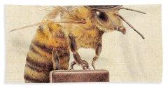 Worker Bee Bath Towel