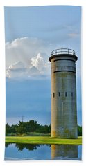 World War II Lookout Tower - Tower Road - Delaware State Park Hand Towel