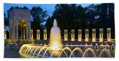World War II Memorial Hand Towel by Allen Beatty