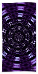 Wormhole Bath Towel by Robyn King