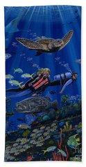 Wreck Divers Re0014 Bath Towel