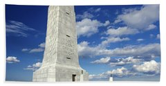 Wright Brothers Memorial D Bath Towel