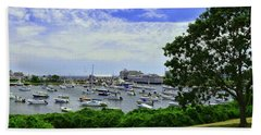 Wychmere Harbor Hand Towel by Allen Beatty