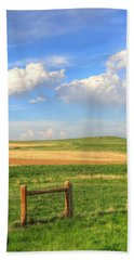 Wyoming Landscape Bath Towel by Lanita Williams