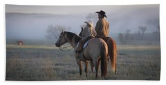 Wyoming Ranch Bath Towel