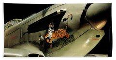 Yak 9 Tiger Hand Towel