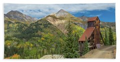 Yankee Girl Silver Mine In Red Mountain Hand Towel