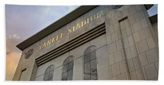 Yankee Stadium Hand Towel by Stephen Stookey