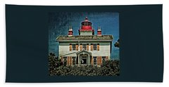 Yaquina Bay Lighthouse Bath Towel
