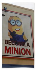 Year Of The Minions Hand Towel by David Nicholls