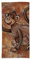 Year Of The Monkey Hand Towel