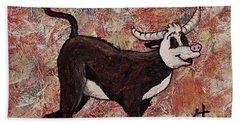 Year Of The Ox Bath Towel