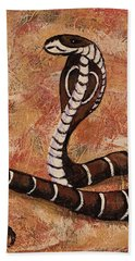 Year Of The Snake Bath Towel