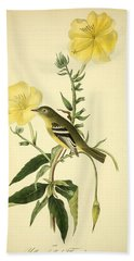 Yellow-bellied Flycatcher Hand Towel by Philip Ralley