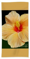 Yellow Hibiscus Hand Towel