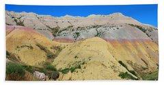 Yellow Mounds Badlands National Park Hand Towel
