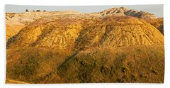 Yellow Mounds Overlook Badlands National Park Bath Towel