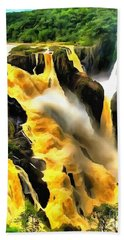Yellow River Bath Towel