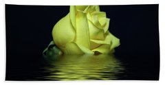 Yellow Rose II Bath Towel