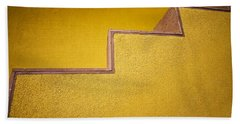 Yellow Steps Bath Towel by Melinda Ledsome